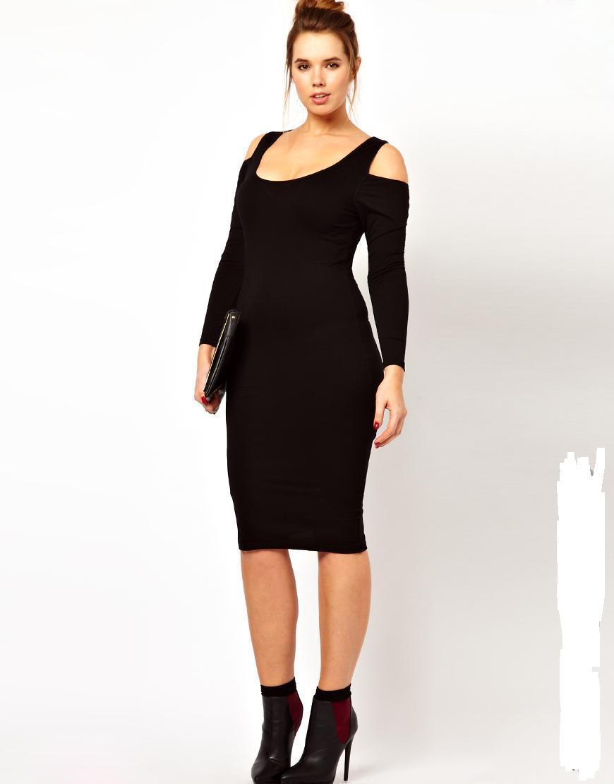купить Женское платье 5XL 6XL 4XL 3XL Vestidos Slim 1110 недорого