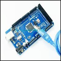 Free shipping HK Post Mega 2560 R3  Mega2560 REV3   ATmega2560-16AU Board + USB Cable