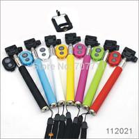 150sets (150pcs Z07-1 Monopod+150pcs phone holder+150pc Bluetooth remote Shutter) Selfie stick for iphone Android smart