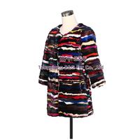BG30555 Amenrican European Style Women Popular Genuine Mink Fur Coat Multicolor Long Style Ladies' Winter Spring Fashion Choice