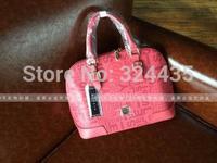 RO092 New fashion Big letters printing PU zipper handbag shouder bag Shell package wholesale drop shipping free shipping