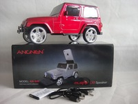 2013 Christmas gift new private model car design card speaker with FM, LINE IN function, Free shipping