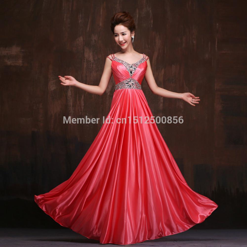 Long Red Dresses For Juniors