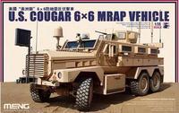 Meng model SS-005 1/35 U.S. COUGAR 6X6 MRAP VEHICLE plastic model kit