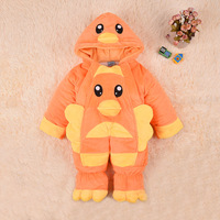 2015 100% baby cotton romper thickening winter sleeping bag holds baby pack newborn wadded jacket  baby clothes hot sale