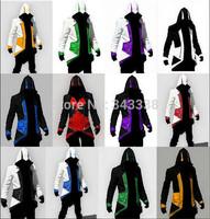 Assassins Creed 3 III Conner Kenway Hoodie Coat Jacket Anime Cosplay Assassin's Costume Cosplay Overcoat