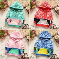 4pc/lot baby hoodies boys girls 2015 kids pullover cotton children clothing panya 738
