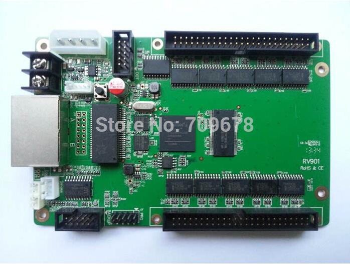 LINSN RV901 Receiving Card + HUB75B Board ,Commerical LED Video Screen LINSN Receiving Card(China (Mainland))