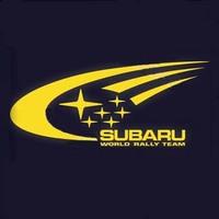 drop shipping  Reflective car stickers   subaru  world rally team