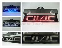 NEW high quality C-I-V-I-C Single Five Letter led car light accessories Second-Generation 2rd Additional brake lights