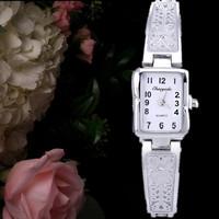 Top sale 2015 luxury brand watches women hour clock gold/silver full steel quartz watch fashion casual women watches relojes