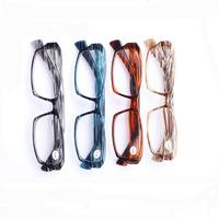 [!Three PAIRS!]full-rim Wood grain Comfortable spring legs Plate frame men women reading glasses +1.0+1.50+2.00 +2.5+3.0+3.5+4.0