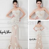 2014 Mother Of The Bride Dresses Vestido Longo Vestido De Festa Longo Sa3857 Gorgeous Long Lace Evening Dress Formal_bridalk