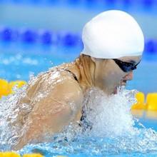 3 Colors Swimming Caps Waterproof Latex Long Hair Sports Siwm Pool Swimming Cap Hat Free size for Men & Women Adults(China (Mainland))