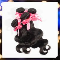 Brazilian Body Wave 3pcs lot Unprocessed Virgin Brazilian Human Hair Weave Bundles Natural Color 100g/pc Longqi Beauty forever