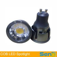 New design Epistar COB LED Spot Light 5W 7W GU10 led spot lighting lamp china online shopping