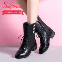 New women's boots fashion female shoes autumn and spring ankle boots heels woman sapatos femininos botas femininas 4