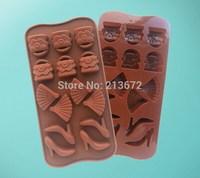 DIY Chocolates Eco-Friendly Food-grade Silicone Cake Mold Originality Convenient Fashions Creative Trends Four Styles Cake Tools