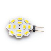 New G4 4W 5730 SMD 12Leds Flower Corn Bulb Led Light DC 12V High Brightness Lamp
