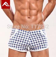 men's brand cotton breathe boardshorts sexy aro shorts man home boxers male underwear sleep bottoms underpants knickers
