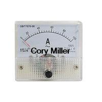 AC 0-100A Analog Amperemeter Panel Meter Gauge 85L1