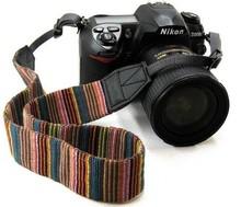 Photo Studio Accessories Camera Neck Strap for all DSLR Camera stripes soft color neck shoulder strap