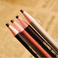 New 2015 1PCS Waterproof 4 Color Eyebrow Eyeliner Pencil Eye Shadow For Make up Cosmetic Eye Pencil