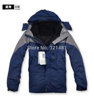 2015 Winter brand Leisure Men's Waterproof Sports Coat+Fleece jacket+Hoodie Climbing Clothes Windproof Jacket Outdoor Ski Suit