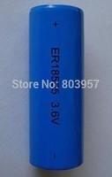 Free shipping 10pcs/lot 3.6V 18505 4000mAh lithium battery