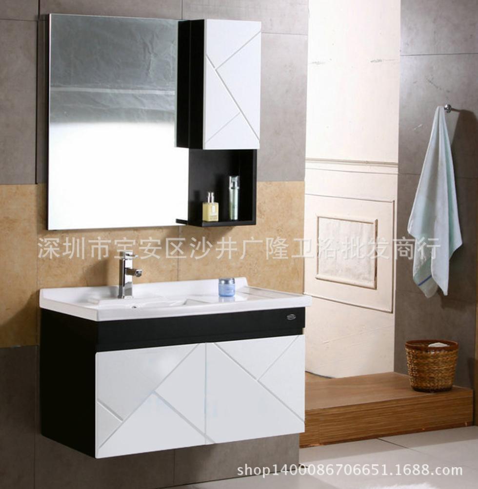 Mueble Baño Oriental:Mona Lisa mueble de baño minimalista baño montado en la pared