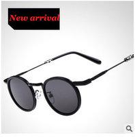Sunglasses Men Women Oculos Round Vintage Glasses Fashion 2015 Sport Outdoors Gafas de sol Lentes Alloy Frames Unisex UV CE g253