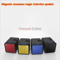New Magnetic resonance speaker magic induction loudspeaker wireless bluetooth mini subwoofer speakers portable free shipping