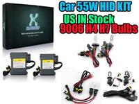 US In Stock 55W HID Bi-Xenon Conversion Kit Headlight Replacement Bulbs Xenon H4 H7 9006 4300K 5000K 6000K 10000K 10000K 12000K