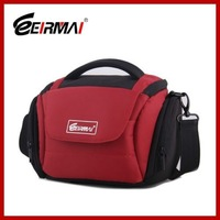 Q00324 EIRMAI DSLR Camera Polyester Waterproof Bag Outdoor L Size 350*160*210mm Red Color Sling Shoulder Bag + FreePost