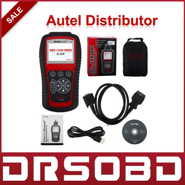 [2pcs/lot]Original Autel AutoLink AL609 ABS CAN OBDII Autel AL609 ABS SCAN TOOL OBDII&CAN SCAN Tool(China (Mainland))