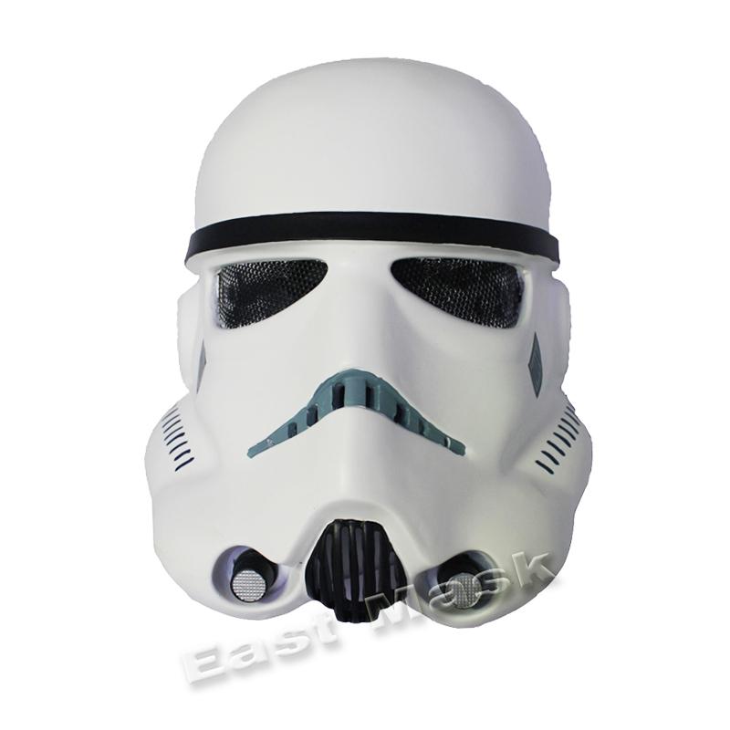 Star Wars White Mask em Wire Mesh Star Wars Mask