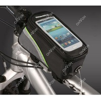 New Cycling Bike Bicycle Frame Pannier Front Tube Bag Case For Cell Phone