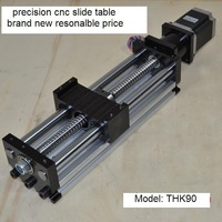400mm Ball screw linear slide system CNC sliding table linear motion CNC router Z axis slider module FREE shipping