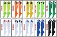 Free shipping lengthened solid soccer socks sports socks thick towel bottom sweat socks football