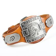 1978 Luxury brand ! Genuine leather Maori bracelet  for women men fashion / casual charming bracelets for dressing free NSL-120