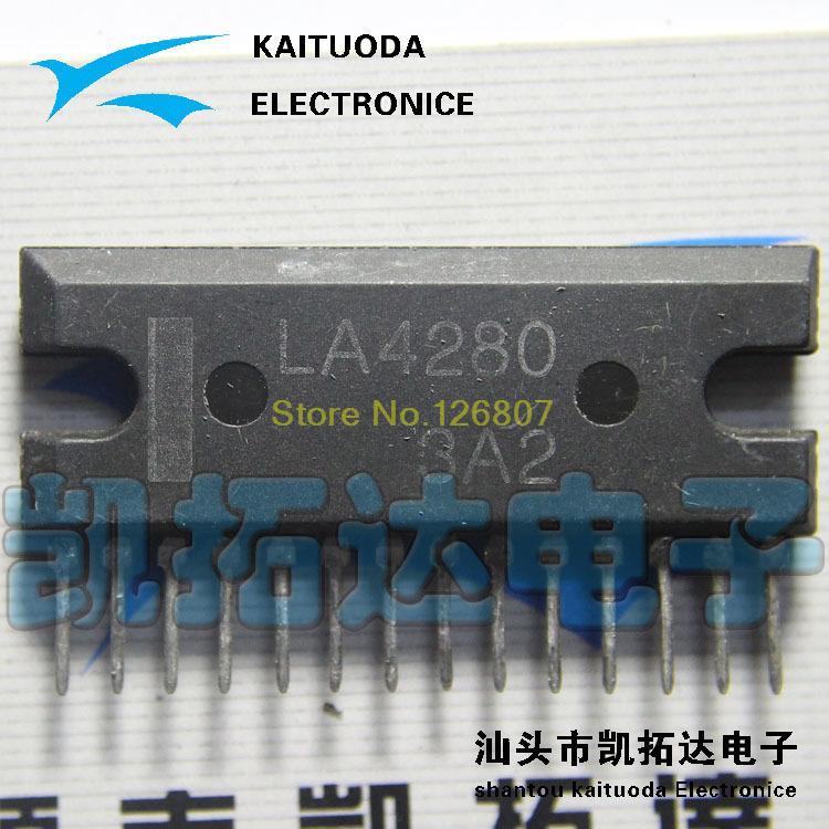 [ Electronic ] LA4280 10W x 2 -channel audio amplifier circuit(China (Mainland))