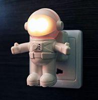 Astro Light Astronaut sensor Nightlight acoustic Optical control LED Light US 86506