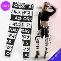 2015 HOT SEXY Women Leggings Space 3D Print Pants Milk Female Leggings All code Size