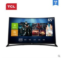 TCL L65H9600A-CUD surface 4K Ultra HD TV Ann Zhuo Zhineng Dolby DTS WiFi / Wired HDMI USB3.0 PCMCIA SD mic Android 4.2 Online 3D