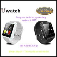 Original U Watch U8 Plus IOS & Android OS Bluetooth Smart Watch WristWatch Phone Sync Call SMS E-Compass Pedometer Sleep Monitor