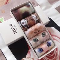 3D printing harajuku topshop soft cotton socks animal socks love gift boxes birthday present type can choose or random sending