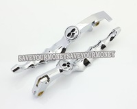 skull design motorcycle brake/clutch lever for HONDA STEED 400 SHADOW 400 750 MAGANA 250 VT VTX nc 29 23 CB-1 CB400 VTEC