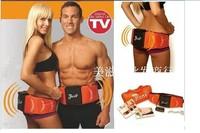 gym form dual shaper Electrode vibration belt massager, slimming belt double function+retail box dropshipping