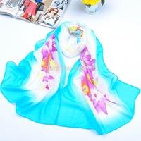 S022 new style Fashion print 20 pcs per lot Long scarf chiffon 160cm*50cm shawl Muslim Hijab