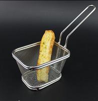 304 stainless steel mesh sieve Chicken fried  Colanders mini screen oil filter sieve basket Strainers